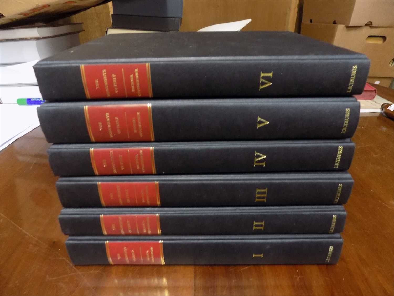 """Lot 9-OPPENHEIMER (MICHAEL) """"The Monuments of Italy."""" 6 ..."""