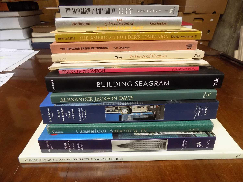 """Lot 24-LAMBERT ( PHYLLIS ) """"Building Seagram"""" 2013 fine; ..."""