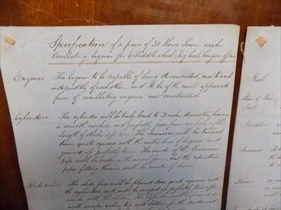 Lot 1222 - TANGYE BROTHERS Important manuscript...