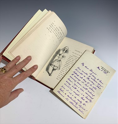 "Lot 98-LEWIS CARROLL. ""Alice's Adventures in wonderland.""..."
