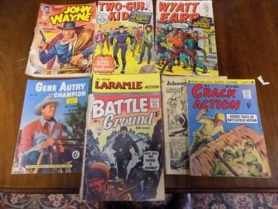 "Lot 11-COMICS. ""Gene Autry & Champion."" No 4., 1956,..."