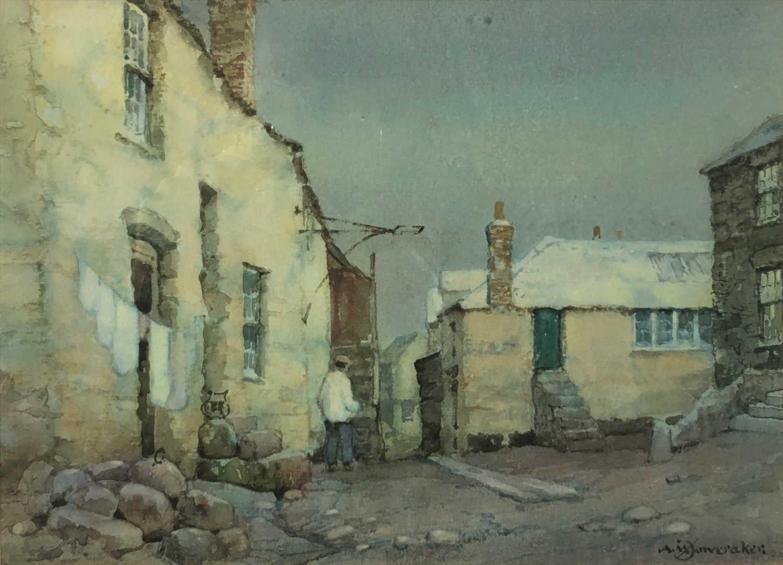Lot 242-Albert Moulton FOWERAKER (1873-1942) Porthmeor...