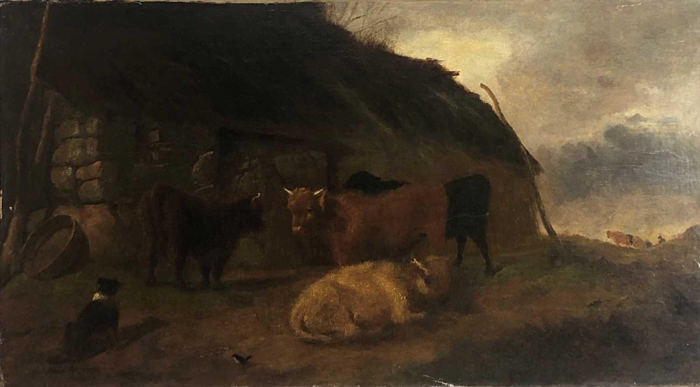 Lot 1284-James ROBERTS (act.1858-c.1876) Highland...