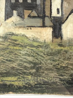 Lot 634-Jack PENDER (1918-1998) Cottages, West Penwith...