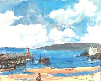 Lot 7 - John Rankine BARCLAY (1884-1962) The Ebbing...