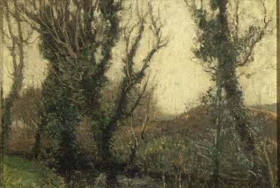Lot 20-Samuel John Lamorna BIRCH (1869-1955) 'Autumn...