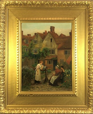 Lot 549-Attributed to Albert Chevallier Taylor...