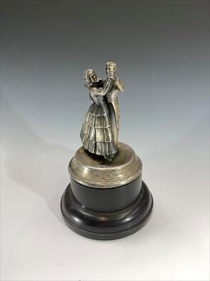 Lot 15-An Art Deco period chromium plated trophy...