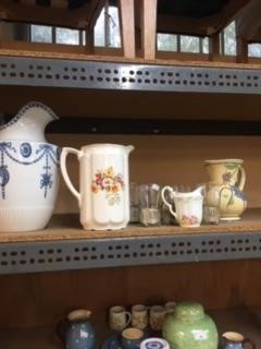 Lot 2-A collection of porcelain and glass including a...