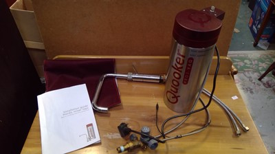 Lot 8 - A Quooker tap and tank.