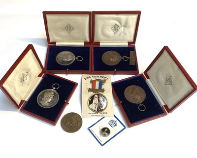 Lot 208 - Badges/Medallions: A Collection of four Royal...