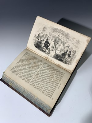 """Lot 1202-CHARLES DICKENS """"Little Dorrit."""" 1st edn, etched..."""