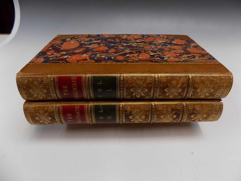"Lot 1203 - W. M. THACKERAY ""The Virginians"" 2 Vols 1st..."