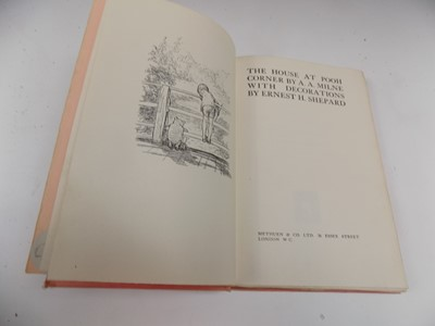 """Lot 1212 - A. A. MILNE """"The House at Pooh Corner."""" 1st..."""