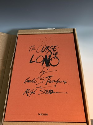 "Lot 1213-HUNTER S. THOMPSON & RALPH STEADMAN ""The Curse..."