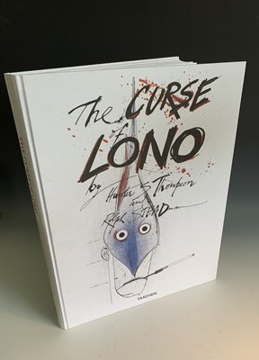"Lot 1213-HUNTER S. THOMPSON & RALPH STEADMAN ""The Curse of ..."