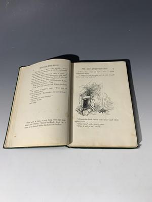"Lot 1214 - A. A. MILNE ""Winnie The Pooh."" 1st edn,..."