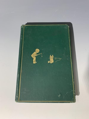 "Lot 1214-A. A. MILNE ""Winnie The Pooh."" 1st edn,..."