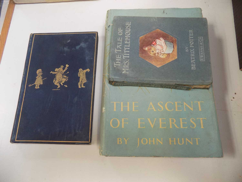 Lot 1215-THREE BOOKS VARIOUS.