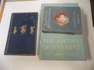 Lot 1215-THREE BOOKS VARIOUS.