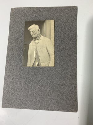 Lot 1216-THOMAS HARDY ALS in form of double sided card,...