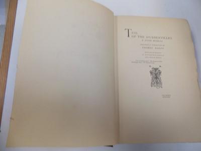 """Lot 1217 - THOMAS HARDY """"Tess of the D'Urbervilles"""" 2..."""