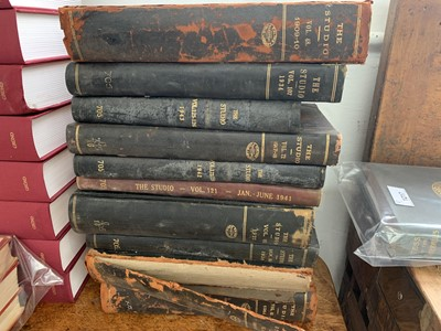 "Lot 1223-""THE STUDIO"" Very large quantity bound volumes..."