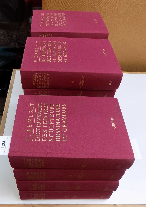 """Lot 1224 - BENEZIT (E.) """"Dictionnaire des Peintres..."""