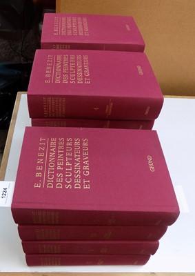 """Lot 1224-BENEZIT (E.) """"Dictionnaire des Peintres..."""