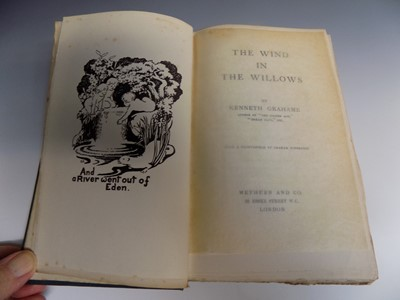 """Lot 1225 - KENNETH GRAHAME """"The Wind in the Willows.""""..."""