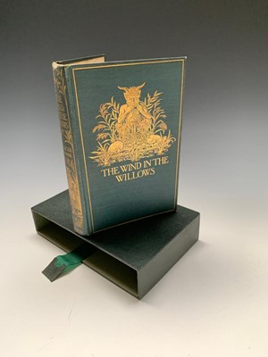 """Lot 1225-KENNETH GRAHAME """"The Wind in the Willows."""" First..."""