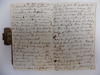 Lot 1227-MANUSCRIPT COOKERY BOOK Well filled album with...