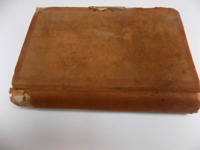 Lot 1227 - MANUSCRIPT COOKERY BOOK Well filled album with...