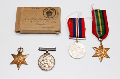 Lot 205 - Medals: World War 1 medal to Sgt J.Jose DCLI,...