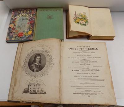 "Lot 1229-NICHOLAS CULPEPER. ""Culpeper's Complete Herbal.""..."