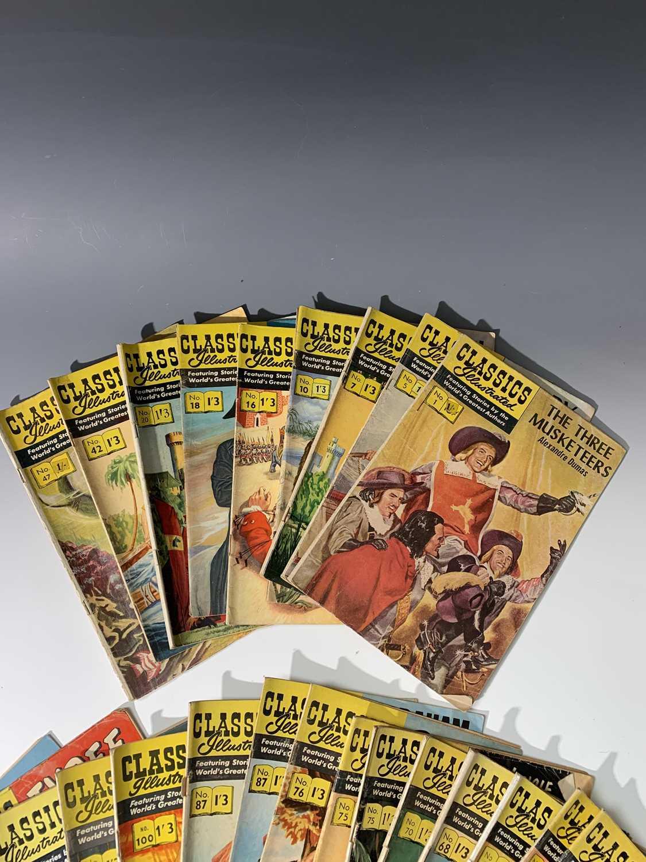 "Lot 1231 - COMICS. ""Classics Illustrated."" 28 numbers...."