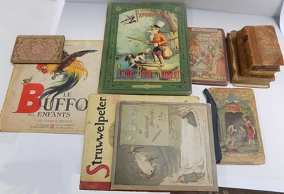 """Lot 1239-NELSON'S """"Picture Book for the Nursery."""" Col..."""