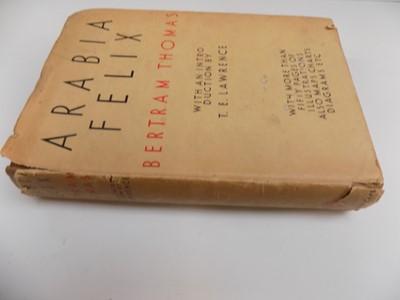 """Lot 1244-T.E. Lawrence. """"Arabia Felix: Across the Empty..."""