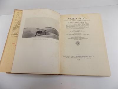 """Lot 1244 - T.E. Lawrence. """"Arabia Felix: Across the Empty..."""