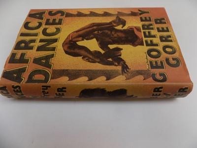"""Lot 1246-GORER (GEOFFREY.) """"Africa Dances, a book about..."""