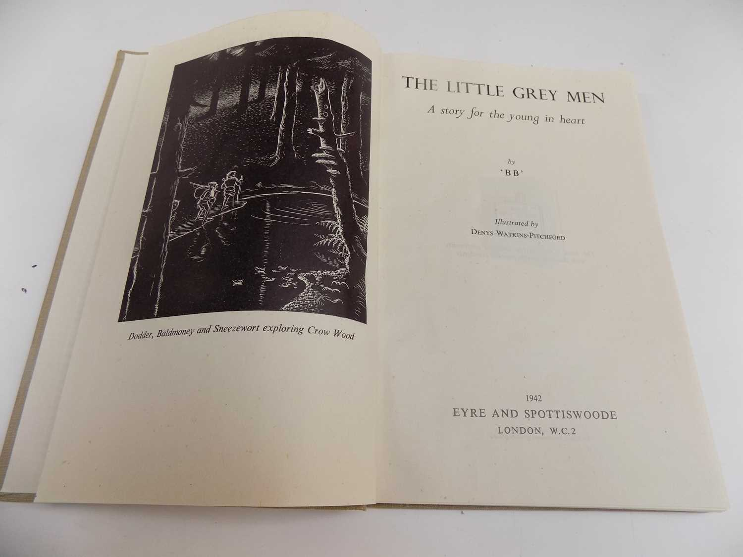 """Lot 1247 - DENYS WATKINS - PITCHFORD. """"The Little Grey..."""