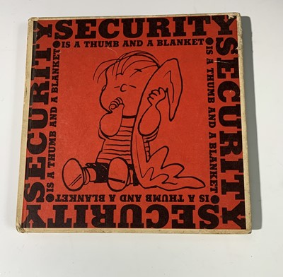"""Lot 1248 - CHARLES M. SCHULZ. """"Security is a Thumb & a..."""