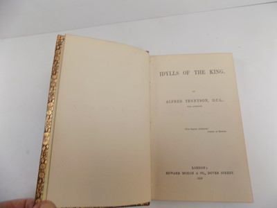 """Lot 1251 - ALFRED LORD TENNYSON. """"Idylls of the King.""""..."""