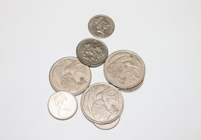 Lot 8 - Misc world coins, including USA 1923 silver...