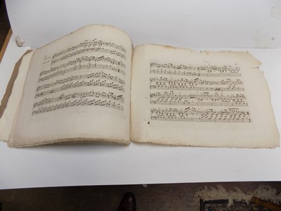 """Lot 1255 - IMPORTANT EARLY MUSIC. """"Six Sonatas for the..."""