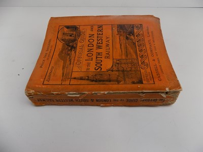 """Lot 1257 - LONDON & SOUTH WESTERN RAILWAY. """"Official..."""