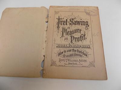 """Lot 1259 - """"Fret - Sawing for Pleasure & Profit,..."""