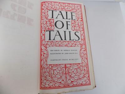 "Lot 1260 - JOHN BRATBY ILLUSTRATIONS. ""Tale of Tails, Ten..."