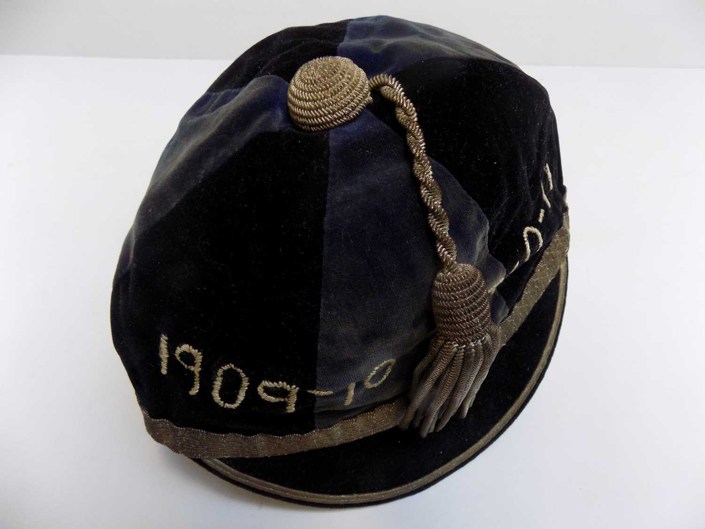 Lot 1262 - GAMES FIRST TEAM CAP. Aberdeen University 1909...