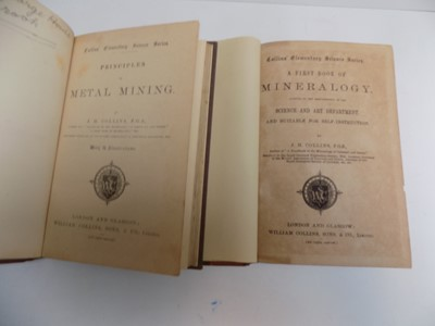 "Lot 1274 - J.H.COLLINS. ""Principles of Metal Mining.""..."